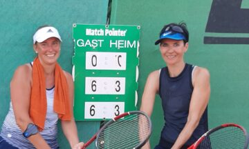 Tennis: Dank starker Doppel zum Unentschieden