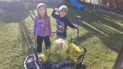 Familie Weddeling on tour