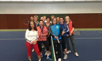 Tennis: Damen-Turnier mit Spaß-Garantie