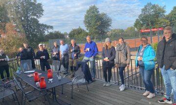 Tennis: Plätze winterfest gemacht