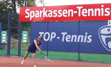 Tennis: Franz-Josef Becker bleibt an der Spitze