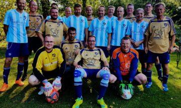 Fußball: Hobbykicker auf dem Podium