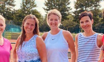 Tennis: Erfolgreicher Start für Damen 30