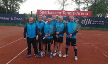Tennis: Herren 50 II stark als Team
