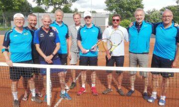 Tennis: Herren 55 neuformiert und siegreich