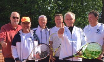 Tennis: Klaus Marx führt Herren 60 zum ersten Saisonsieg