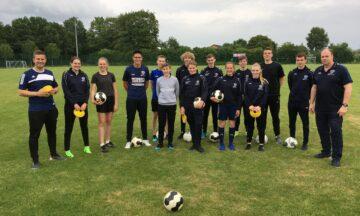 Fußball: C-Lizenz-Ausbildung in der Emsaue