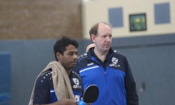 Tischtennis: DJK gerät in Bedrängnis