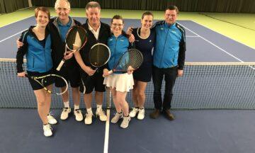 Tennis: Katrin Siemon und Franz-Josef Becker trumpfen auf
