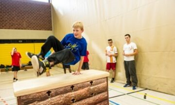 Lust auf Parkour-Training?