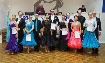 Tanzen: Martin und Kerstin punkten beim 24. Norddeutschen Tanzmarathon
