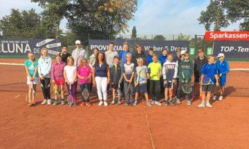 Tennis: Nachwuchs beendet Sommersaison