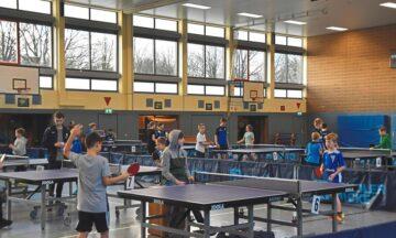 Tischtennis: Talente mit Feuereifer bei der Sache