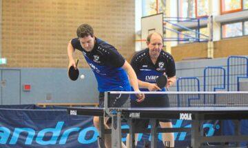 Tischtennis: Dickes Brett