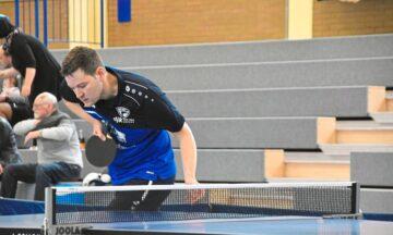 Tischtennis: Max Haddick ist eine Bank