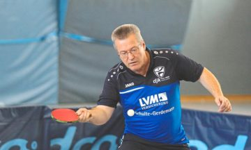 Tischtennis: Verbandsligateam im Höhenflug