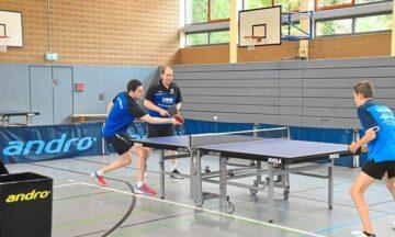 Tischtennis: Leichter als gedacht