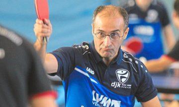 Tischtennis: Achtung Glatteis