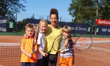 Tennis: Drei junge Vereinsmeister