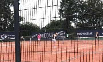 Tennis: Doppelvereinsmeisterschaft
