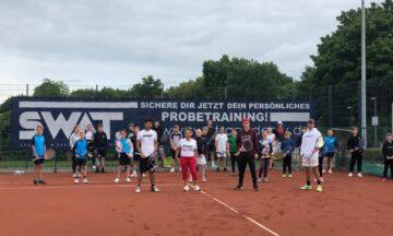 Ferienprogramm: Drei Tage Tennis pur